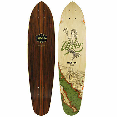 """Arbor Longboard Cruiser Deck Mission 8.65"""" x 35"""" Groundswell Collection"""