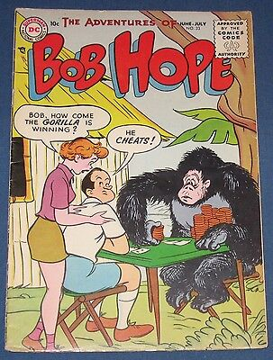 Adventures Of Bob Hope #33  June 1955  Cheated By A Gorilla