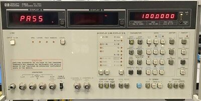 HP 4192A LF Impedance Analyzer - Very Good condition - Meets Specification