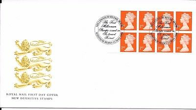 GB 1999 Millennium Retail booklet FDC Windsor cancel