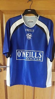 Crumlin United Fc Official Vintage O'neills Players Shirt Size Large