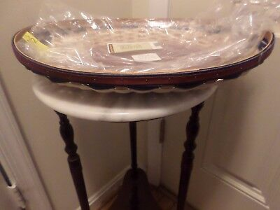 Longaberger  New American Celebration Swoop Tray Red Blue-Excellent