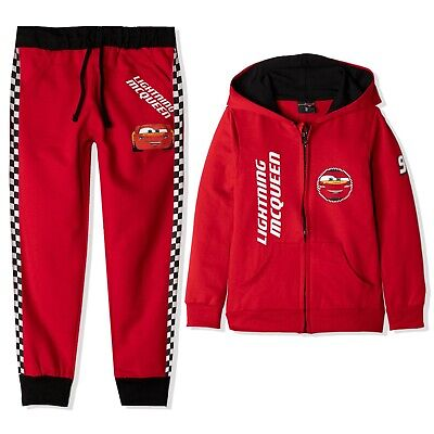 c77feb271 Disney Cars Boys Tracksuit Outfit Jogging Clothes Sport Set Tracksuit 2-8  Years
