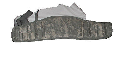 New Army Military Surplus Acu Molle Ii Molded Waist Belt Kidney Pad Frame Backpa