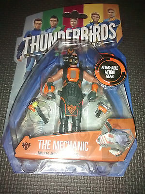 "Thunderbirds Are Go The Mechanic 4"" Action Figure & Accessories"