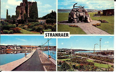 Scotland: Stranraer - Multiview - Posted 1977