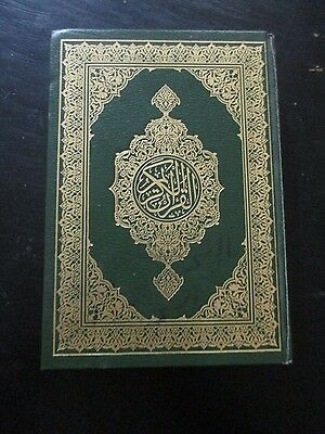 THE HOLY QURAN BOOK, HARD COVER, 603 pp.    cs4679