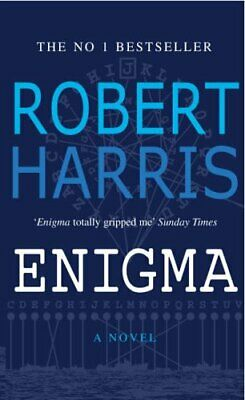 Enigma by Harris, Robert Book The Cheap Fast Free Post