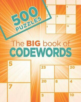 The Big Book of Codewords by Parragon Books Ltd Book The Cheap Fast Free Post