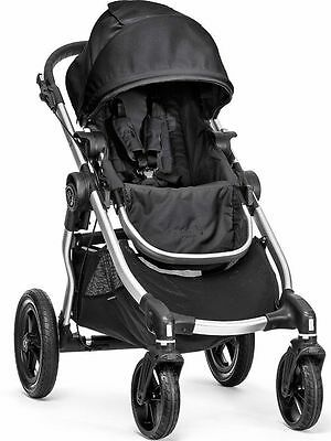 Baby Jogger City Select All Terrain Single Stroller Silver Frame Onyx 2017 NEW