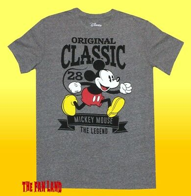 New Disney Mickey Mouse Original 1928 Vintage Classic T-Shirt