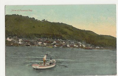 View of Panama Bay Postcard, B212
