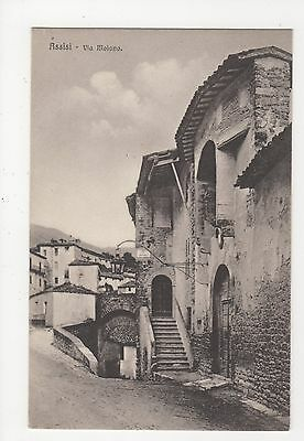 Italy, Assisi, Via Moiano Postcard, A996