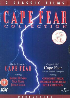 Cape Fear Box Set [1961 and 1991] [DVD] - DVD  4XVG The Cheap Fast Free Post