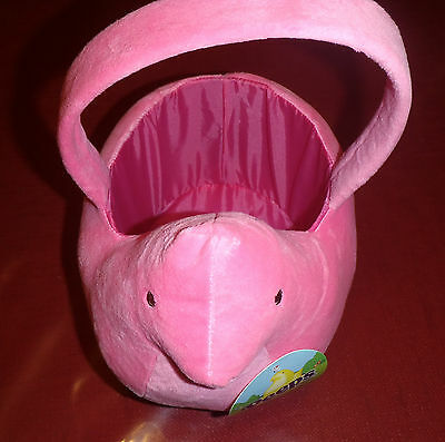 Peeps Easter Basket - Pink-  by Just Born, Inc. - Brand New!