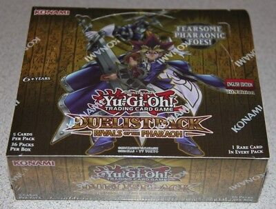 Yugioh Yu-Gi-Oh Duelist Pack Rivals Of The Pharaoh Booster Box 1St Edition