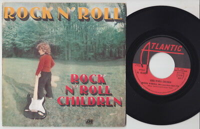 ROCK N' ROLL CHILDREN * 1974 French GLAM ROCK 45 * Listen!