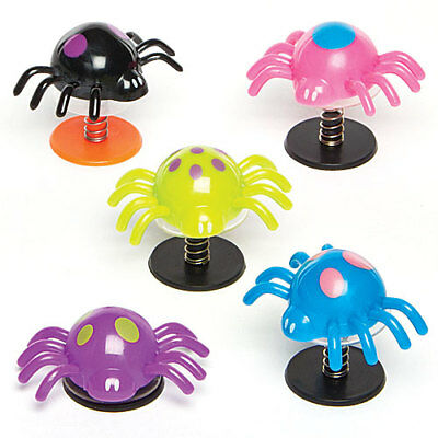 Spider Jump-Ups - Perfect Stocking Filler for Children (Pack of 4)