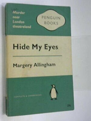 Hide My Eyes by Margery Allingham Paperback Book The Cheap Fast Free Post