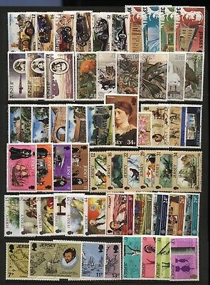 Jersey Collection Modern Commemorative Sets Unmounted Mint