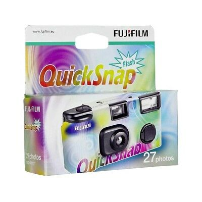 Fujifilm QuickSnap disposable Single Use Flash Camera 27 Exposures - Fashion