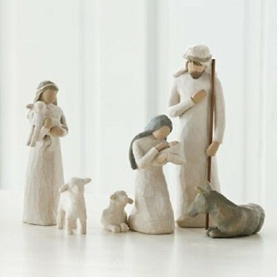 6 Piece Nativity Willow Tree Figurine Set by Susan Lordi Demdaco 26005 New