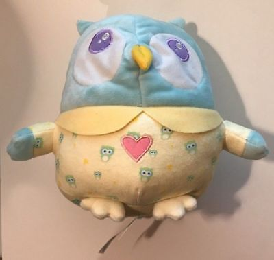 Mirari OK to Wake! Owl with Night-Light and Music Huggable toy for ages birth