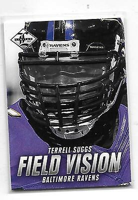 2013 Limited Terrell Suggs Field Vision insert Ravens 4