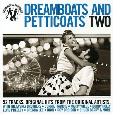 Various Artists - Dreamboats & Petticoats 2 - Various Artists CD ZMVG The Cheap