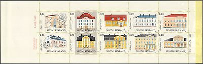 Finland 1982 Manor Houses/Buildings/Architecture/History/Heritage bklt (n45262w)