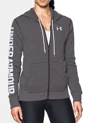 UNDER ARMOUR DAMEN Fleece Hose Favorite Grau Jogger kurz