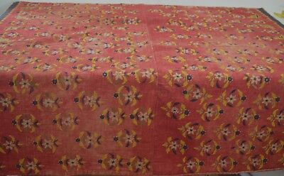 Unusual Antique Hand Embroidered Textile From Gujurat Northern India   Tt161