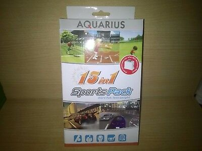 Wii  - Aquarius 15 In 1 Sports Pack UK Free Postage!! New Sealed!!