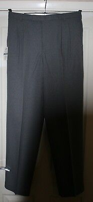 "Taylor  MENS  Grey  Bowls  Trousers  waist  34""  length 33"""