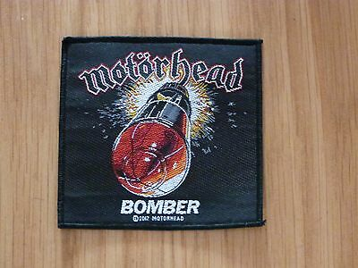 Motorhead - Bomber (New) Sew On W-Patch Official Band Merchandise