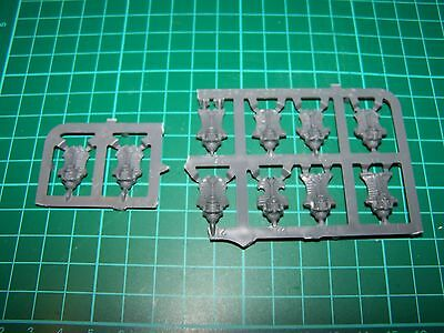 10 Thousand Sons Rubric Marines Heads (bits)