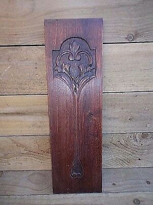 Antique Carved Wooden Furniture Panel