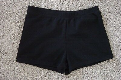 Black Dance Shorts by Chasse – Size Adult Small
