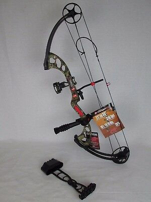 "PSE Stinger X RTS Package 21 - 30"" 31-70# Right Hand Camo compound Bow"