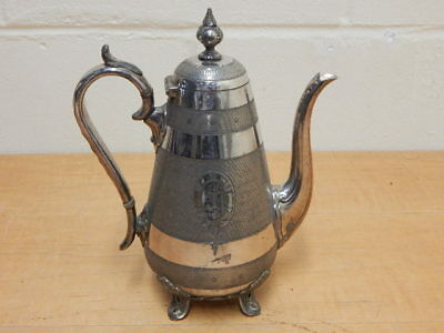 Beautiful James Dixon & Sons Large Silver Plated Coffee Pot  Pattern No. 2754