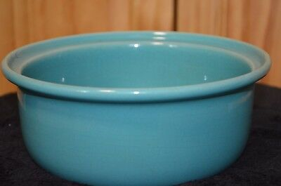Vintage/Antique Coors Rosebud Serving Bowl  - Estate - Teal