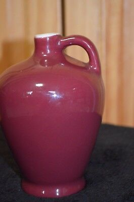 Vintage/Antique Genuine Coorsite Porcelain Maroon Vase/Pitcher  - Estate