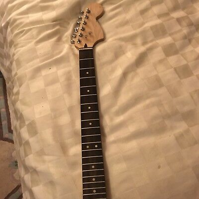Fender Squier Bullet Mustang Neck With Neckplate And Screws