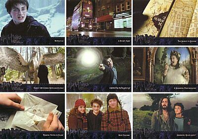 Artbox Harry Potter Prisoner of Azkaban Film Cell Card or Case Card ..CHOOSE