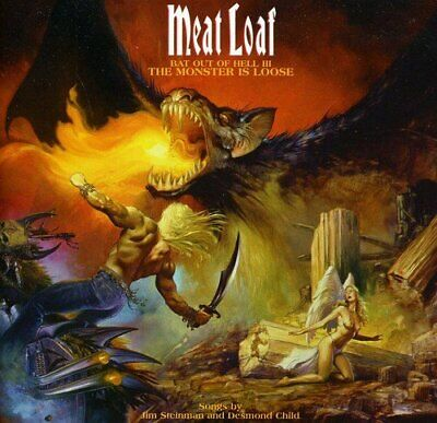 Meat Loaf - Bat Out Of Hell 3: The Monster is Loose - Meat Loaf CD FAVG The The