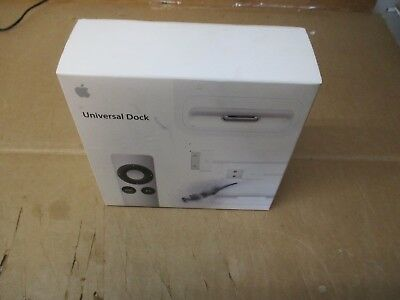 NEW SEALED OEM APPLE MC746LL/A UNIVERSAL DOCK iPOD & iPHONE W/ A1294 REMOTE