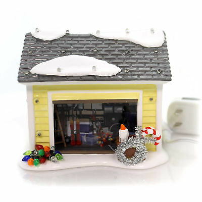 Department 56 House THE GRISWOLD HOLIDAY GARAGE National Lampoon's 4056686