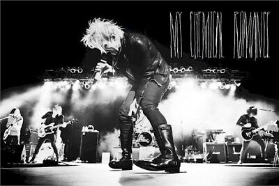 MY CHEMICAL ROMANCE ~ LIVE ON STAGE 24x36 MUSIC POSTER Gerard Way
