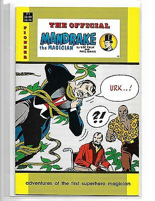 The Official Mandrake The Magician #1 Lee Falk Pioneer Press