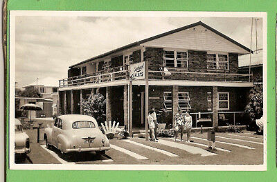 #f.  Postcard  - Early  Holden  Car, Starboard  Flats